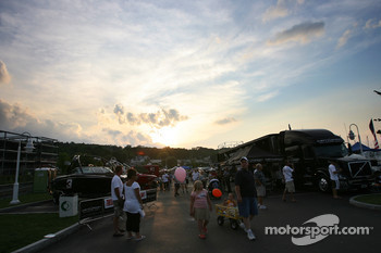 General ambiance at the Watkins Glen fan fest