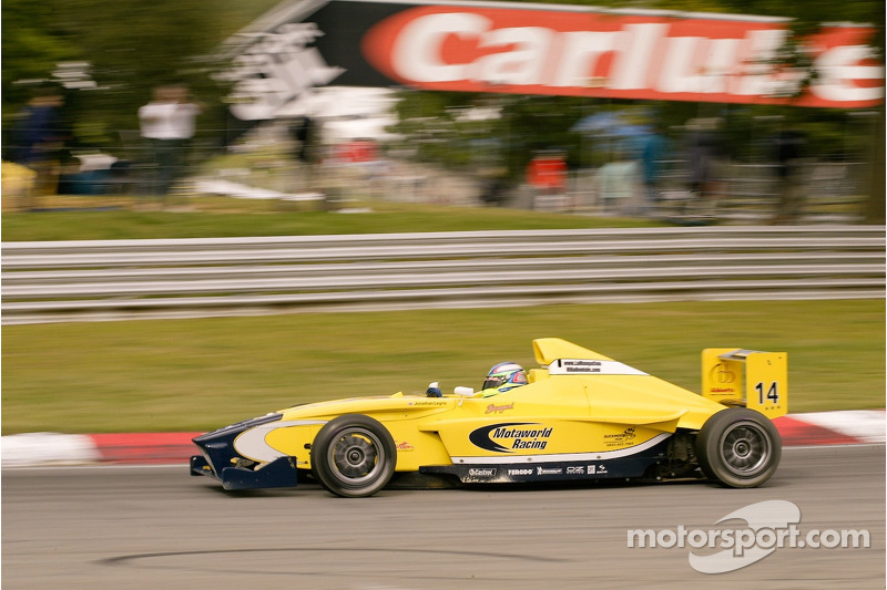 #14 Jonathan Legris (GB) Motaworld Racing Formula BMW FB2