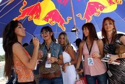 Girls at the Red Bull Aqua Battle