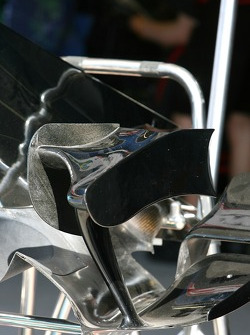 Honda Racing F1 Team, RA107, winglet