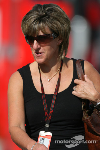 Ann Neal, Girlfriend / Manager of Mark Webber, Red Bull Racing