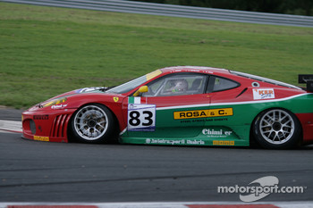 Bus stop: #83 GPC SPORT Ferrari F430 GT: Gabrio Rosa, Luca Drudi, Johnny Mowlem