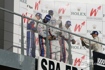 Champagne podium LMP1