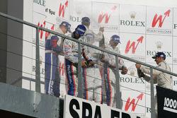Champagne podium LMP1