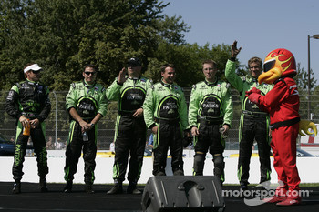 Drivers introduction: Scott Sharp and his team