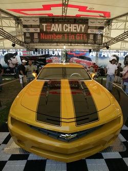Chevrolet display area