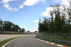Monza track walk
