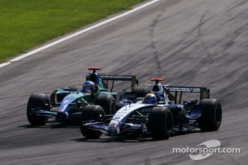 Jenson Button, Honda Racing F1 Team, Nico Rosberg, WilliamsF1 Team