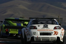 #70 SpeedSource Mazda RX-8: David Haskell, Sylvain Tremblay, Nick Ham