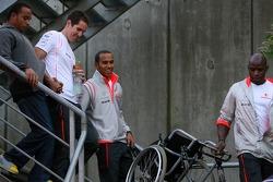 Lewis Hamilton, McLaren Mercedes, Nicholas Hamilton