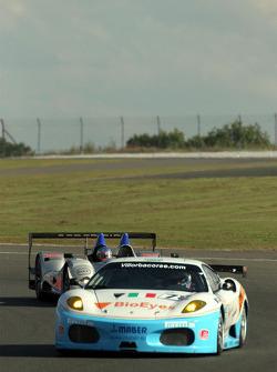 #78 Scuderia Villorba Corse Ferrari F430 GT: Alex Caffi, Denny Zardo