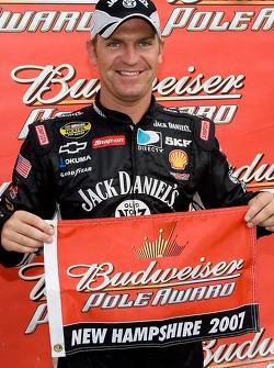 Pole winner Clint Bowyer