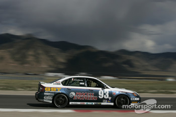 #93 GOTO Racing Subaru Legacy: Brian Lock, Chris Lock