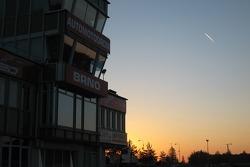 Sunset on Brno