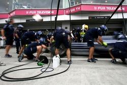 Williams F1 Team pitstop practice