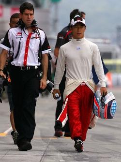 Takuma Sato, Super Aguri F1 Team