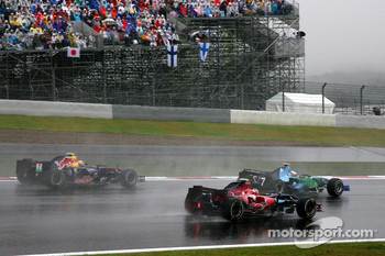 Sebastian Vettel, Scuderia Toro Rosso, Jenson Button, Honda Racing F1 Team, Mark Webber, Red Bull Racing