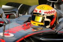 1st, Pole Position, Lewis Hamilton, McLaren Mercedes