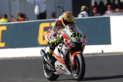 Valentino Rossi takes third place