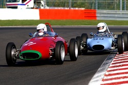 #21 MULLEN Peter IRL, 1960 OSCA, #59 HALL David GB, 1961 BMCD MK2