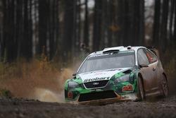 Jari-Matti Latvala and Miikka Anttila, Stobart M-Sport Ford Rally Team, Ford Focus WRC
