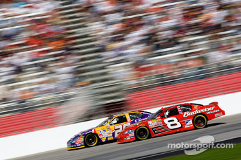Dale Earnhardt Jr. and Jamie McMurray