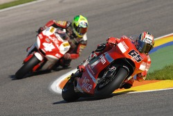 Loris Capirossi and Alex Barros