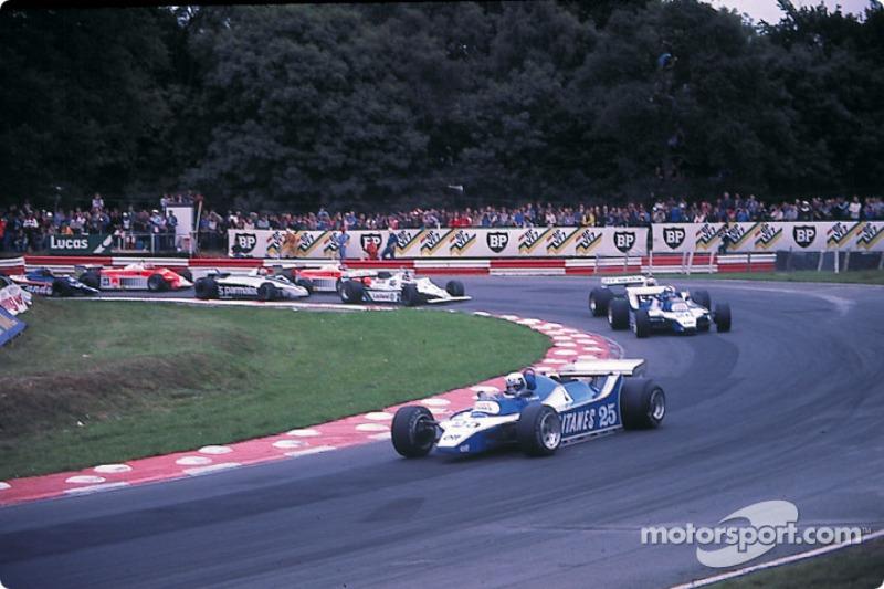 Start: Didier Pironi leads