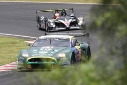#51 AMR Larbre Aston Martin DBR9: Gregor Fisken, Steve Zacchia, Roland Berville, Fernando Rees