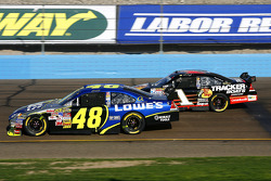 Jimmie Johnson and Martin Truex Jr.