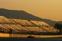 Sunset at F1 Testing