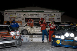 First (AntoineL'Estage, Nathalie Richard), second (FrankSprongl, Brian Maxwell)and third place (JanZedril,Jody Zedril) for the National Driver class