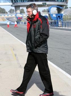 Ross Brawn Team Principle, Honda Racing F1 Team