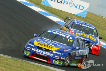 John Bowe in his last V8 Supercar Race
