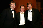 Nick Fry, Malcolm Wilson and Martin Whitaker