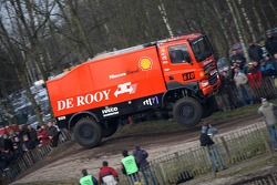 Team de Rooy pre-prologue in Valkenswaard: Jan de Rooy, Dany Colebunders and Darek Rodewald