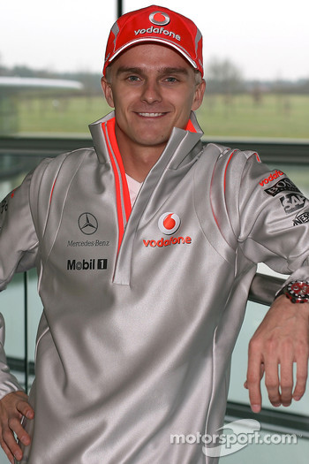 New Vodafone McLaren Mercedes driver Heikki Kovalainen