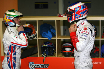 Andy Priaulx, Jenson Button