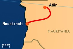 Stage 8: 2008-01-12, At'r to Nouakchott