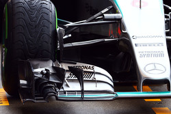 Nico Rosberg, Mercedes AMG F1 W06 front wing