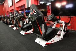 Simuladores de corrida no Speedland