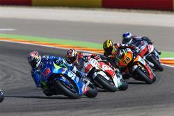 Maverick Viñales, Team Suzuki MotoGP and Jack Miller, Team LCR Honda and Loris Baz, Forward Racing Yamaha