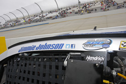 Jimmie Johnson, Hendrick Motorsports Chevrolet prepares for his 500th start