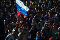 Fãs em Sochi