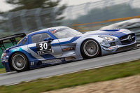 #30 Ram Racing Mercedes SLS AMG: Tom Onslow-Cole, Paul White, Thomas Jäger