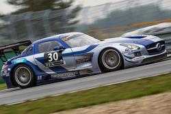 #30 Ram Racing Mercedes SLS AMG: Tom Onslow-Cole, Paul White, Thomas Jäger
