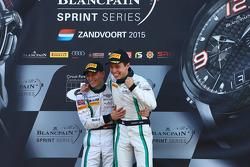 Winners #84 Bentley Team HTP Bentley Continental GT3: Maximilian Buhk, Vincent Abril