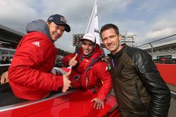 Miguel Molina, Audi Sport Team Abt Audi RS 5 DTM, Mattias Ekström, Audi Sport Team Abt Sportsline, Audi A5 DTM, Sébastien Ogier, WRC world champion
