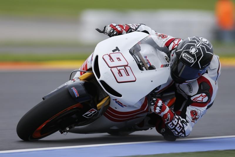 Campeón del Mundo en Moto2, Marc Márquez hace su debut con el Repsol Honda en MotoGP.