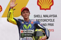 Third place Valentino Rossi, Movistar Yamaha MotoGP